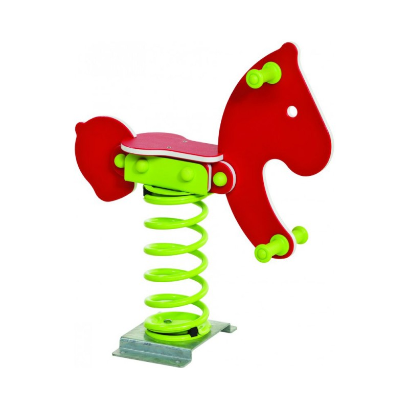 Urządzenia zabawowe Bujak na sprężynie KUCYK