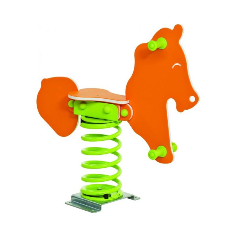 Urządzenia zabawowe Bujak na sprężynie KONIK