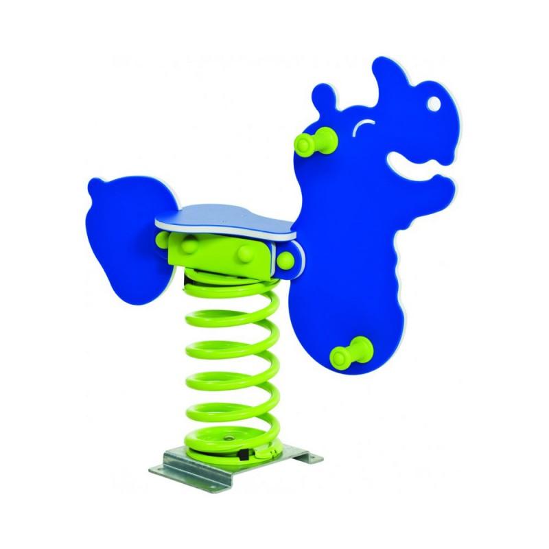 Urządzenia zabawowe Bujak na sprężynie NOSOROŻEC