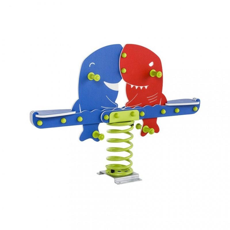 Urządzenia zabawowe Bujak na sprężynie RYBY