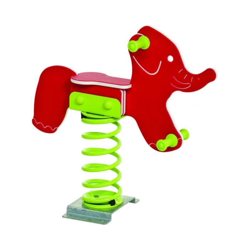 Urządzenia zabawowe Bujak na sprężynie SŁOŃ