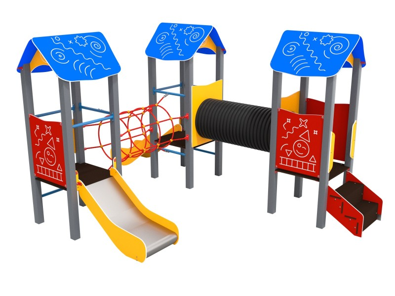 Urządzenia na plac zabaw Piro 3-2
