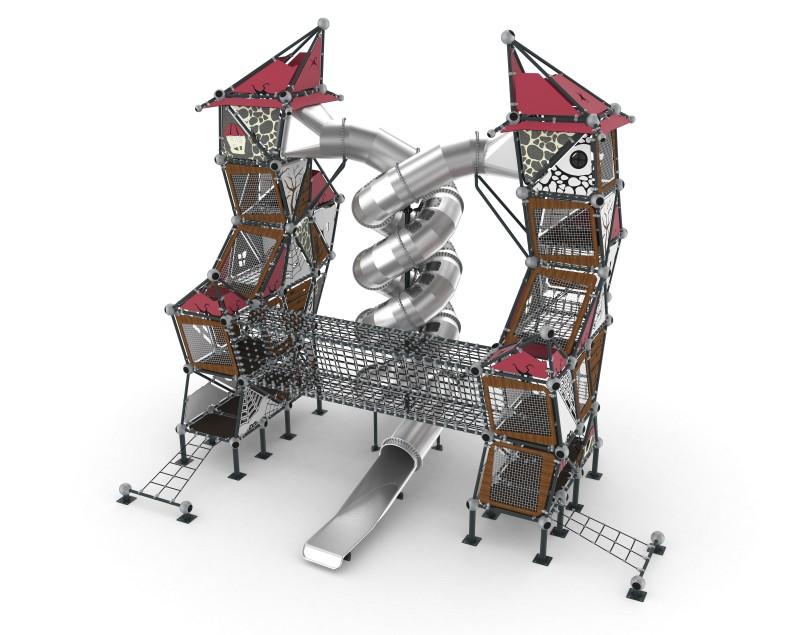 Play Park - Domki na place zabaw Domek Czarownicy 10