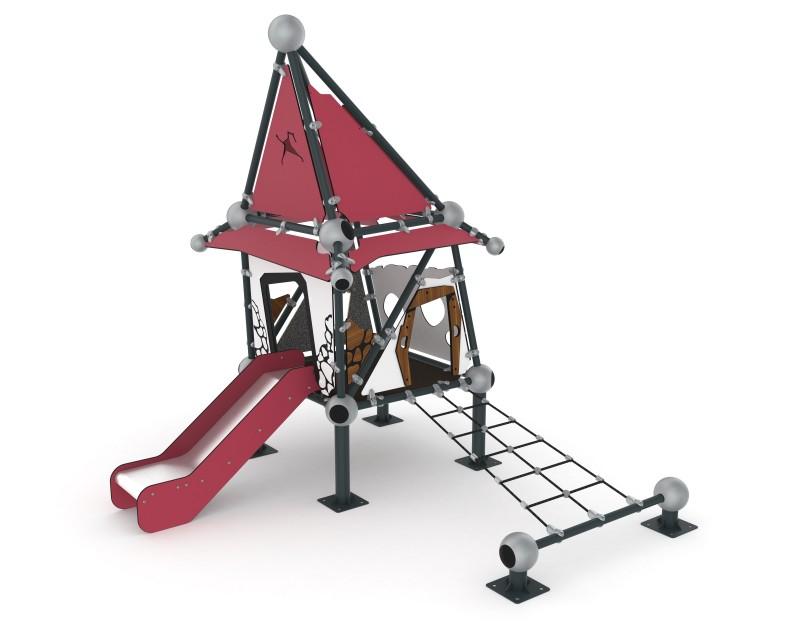 Play Park - Domki na place zabaw Domek Czarownicy 2