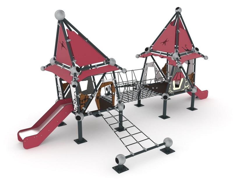 Play Park - Domki na place zabaw Domek Czarownicy 4