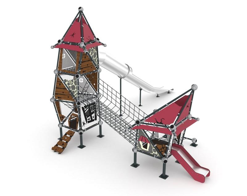 Play Park - Domki na place zabaw Domek Czarownicy 5