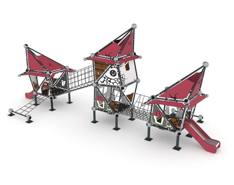 Play Park - Domki na place zabaw Domek Czarownicy 6