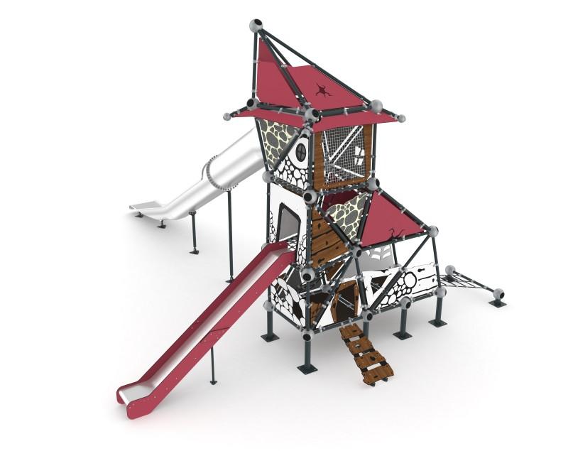 Play Park - Domki na place zabaw Domek Czarownicy 7
