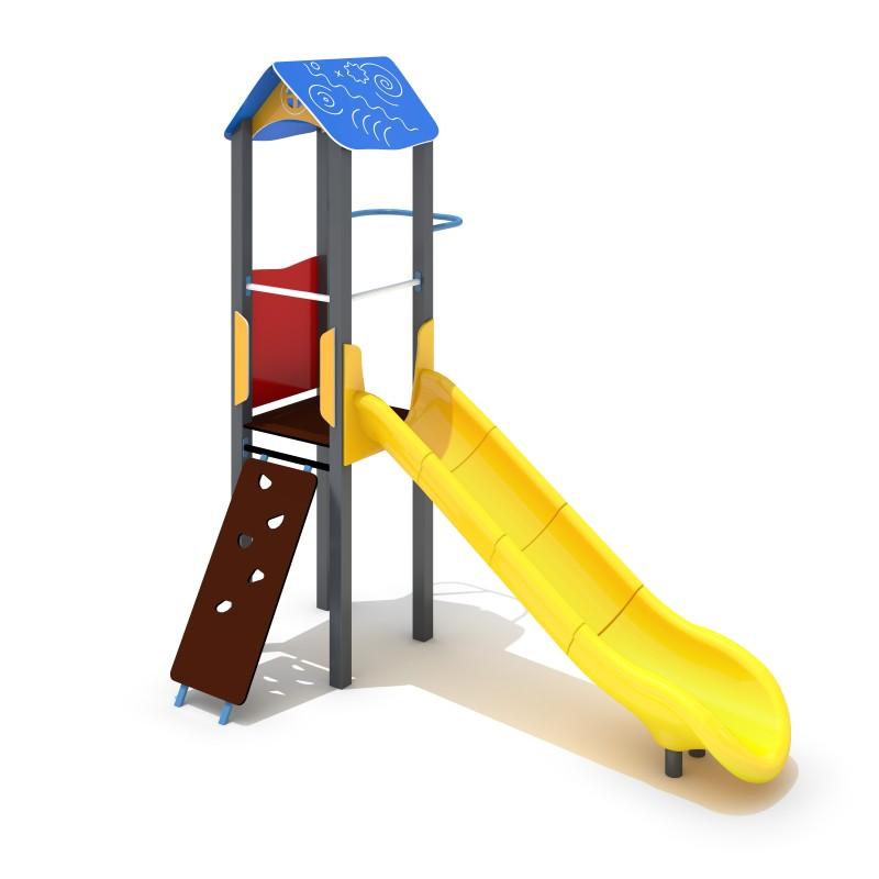 Urządzenia na plac zabaw Zestaw Avelo 1-3 - zjeżdżalnia plastikowa