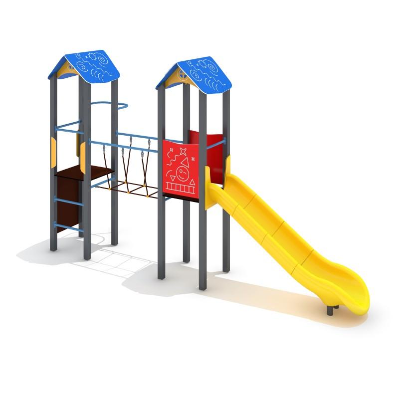 Urządzenia na plac zabaw Zestaw Avelo 2-5 - zjeżdżalnia plastikowa