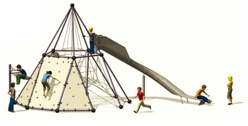 Urządzenia zabawowe Skyclimber 2