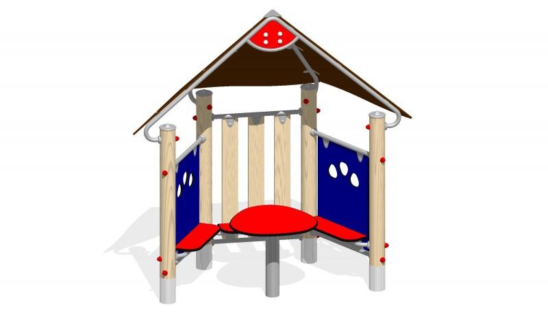 Urządzenia zabawowe Na Plac Zabaw Producent Domek Spotkań 1