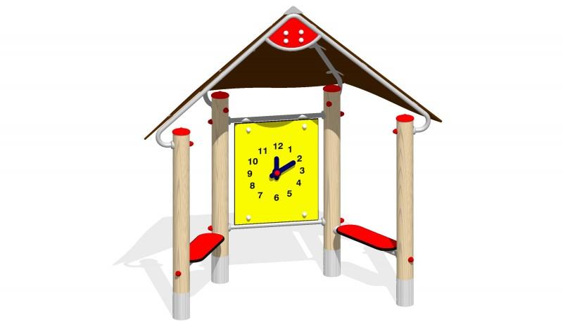 Urządzenia zabawowe Na Plac Zabaw Producent Domek Zegar