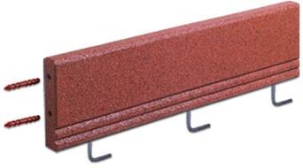 FLEXI-STEP - elastyczny krawężnik z wewnętrznym usztywnieniem i mocowaniem 1000x50x250mm