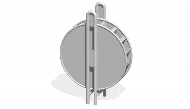 Urządzenia zabawowe Młyńskie koło (fi 0,8m)