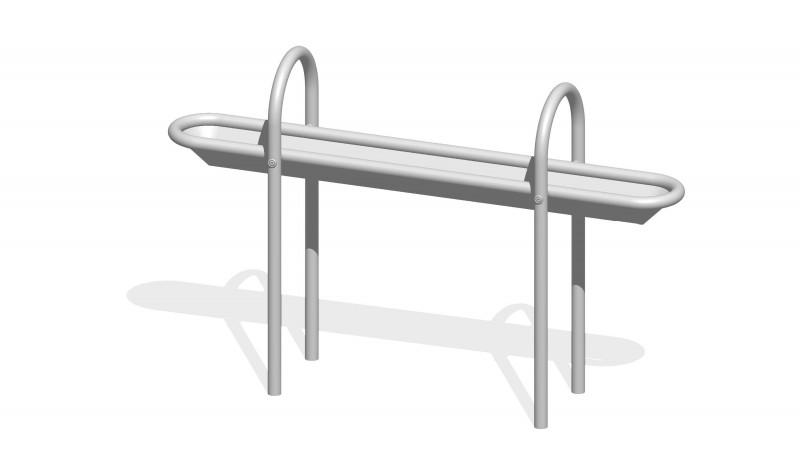 Urządzenia zabawowe Rynna z odpływem dolnym 1,3 m