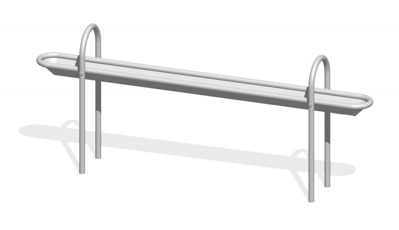 Urządzenia zabawowe Rynna z odpływem dolnym 2,1 m