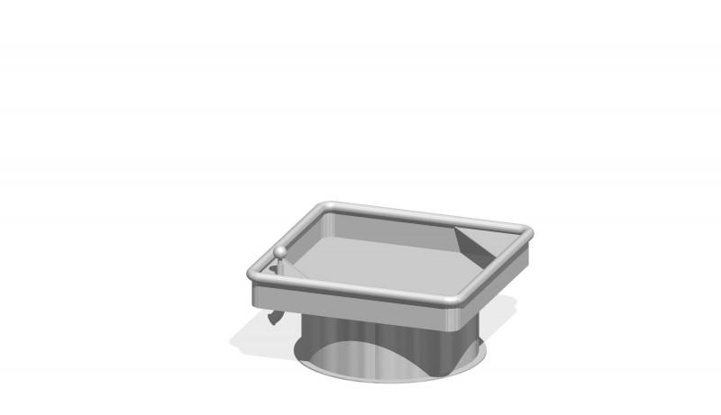 Urządzenia zabawowe Kwadratowy stół wodny 0,25 m