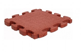 FLEXI-STEP - FLEXI-STEP Bezpieczne Puzzle 3D 620x620x60 mm, HIC=2,1 m