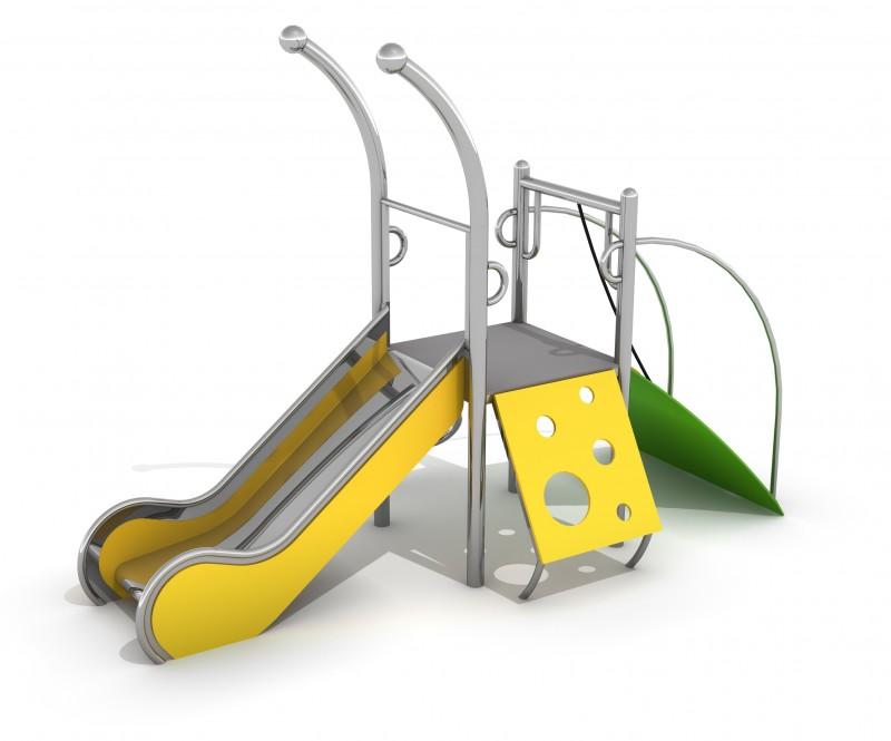 Zjeżdżalnia dla dzieci Zestaw Dometo 1-1