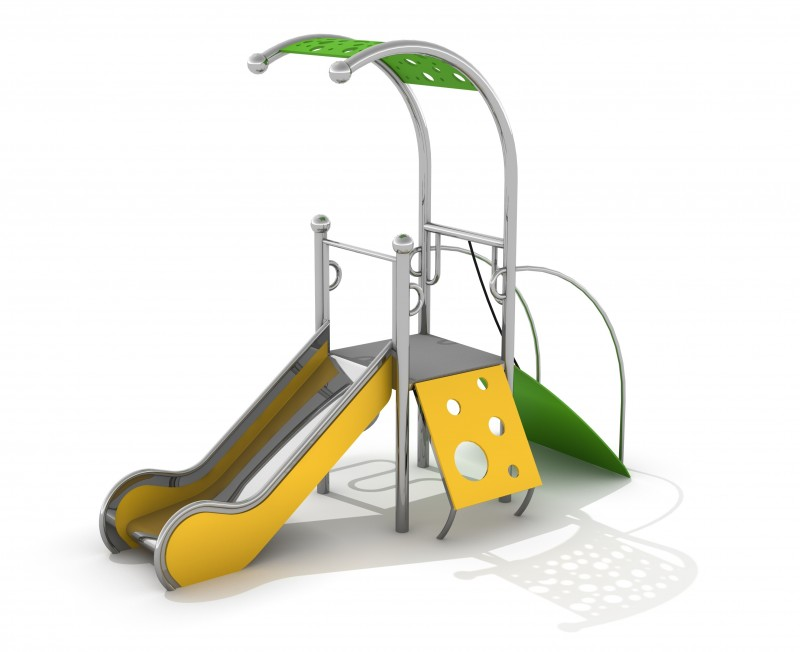 Zjeżdżalnia dla dzieci Zestaw Dometo 1-2