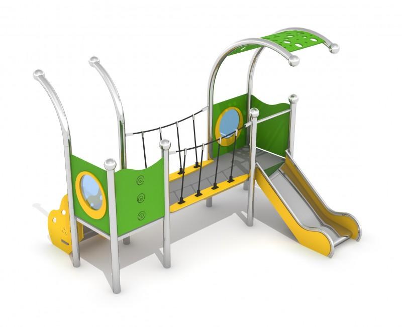 Zjeżdżalnia dla dzieci Zestaw Infano 4