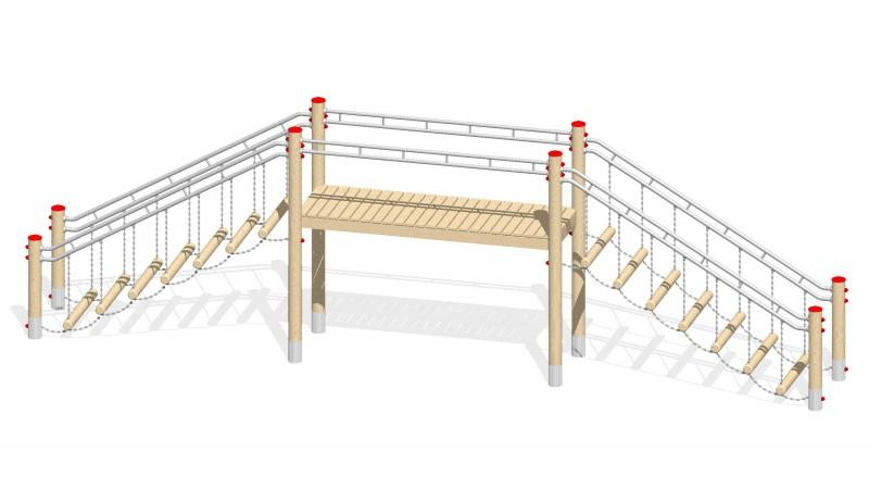 Urządzenia zabawowe Na Plac Zabaw Producent Most 1