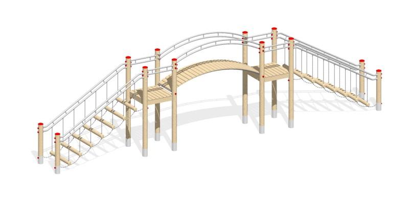 Urządzenia zabawowe Na Plac Zabaw Producent Most 3