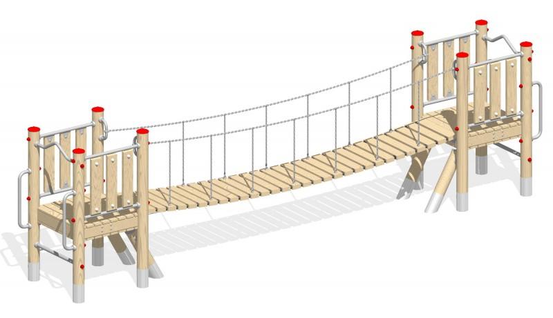Urządzenia zabawowe Na Plac Zabaw Producent Most 4