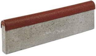 FEXI-STEP betonowy krawężnik z elastyczną nakładką 1000x295x60/80mm