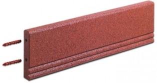 FLEXI-STEP - FLEXI-STEP elastyczny krawężnik z wewnętrznym usztywnieniem 1000x250x50mm