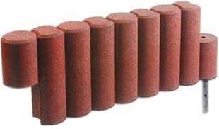 FLEXI-STEP palisada 1000 (9-elementowa) z mocowaniem 1150x150x400mm