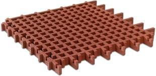 Huśtawka na plac zabaw FLEXI-STEP Bezpieczna kratka 1000x1000x45-65-100mm