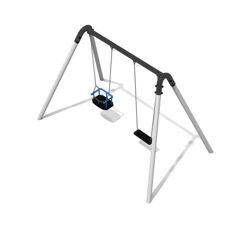 Urządzenia zabawowe MERCURY 3 - Huśtawka metalowa