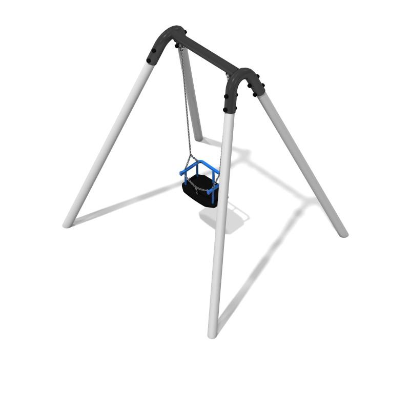 Urządzenia zabawowe URANUS 2 - Huśtawka metalowa