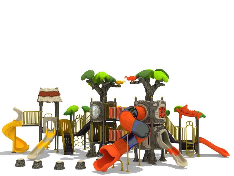 Domki plastikowe dla dzieci Zestaw Las 11