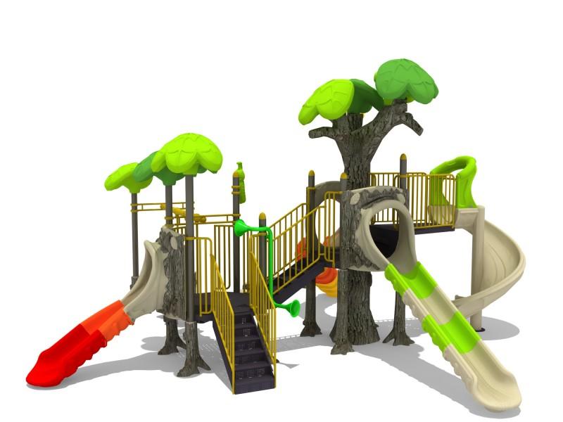 Domki plastikowe dla dzieci Zestaw Las 3
