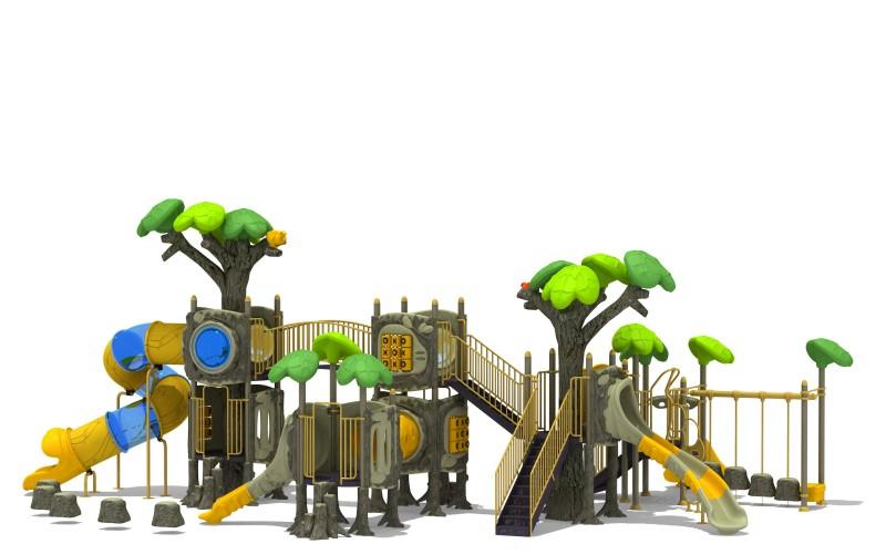 Zjeżdżalnia dla dzieci Zestaw Las 8