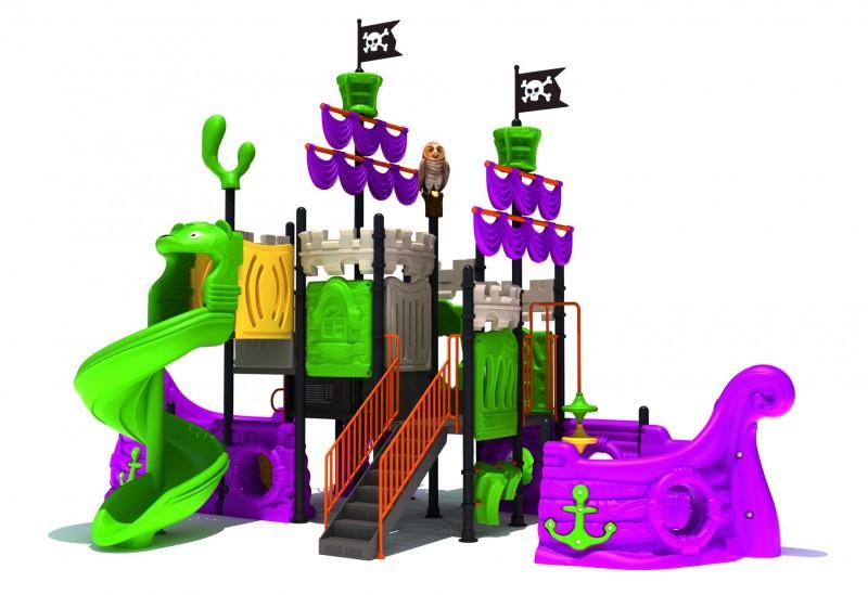 Urządzenia zabawowe Zestaw Statek Piracki 3