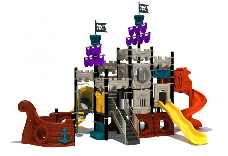 Urządzenia zabawowe Zestaw Statek Piracki 4