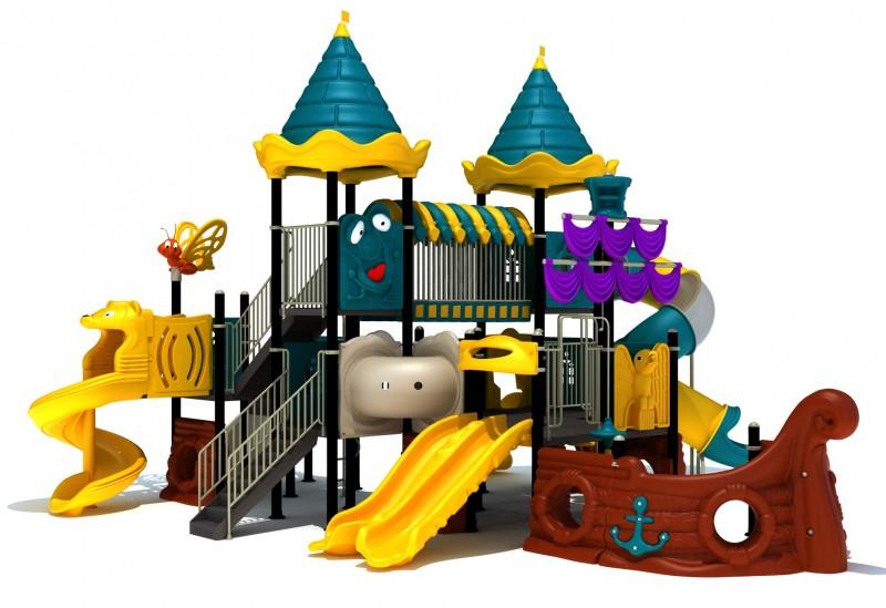 Zabawki ogrodowe dla dzieci Zestaw Statek Piracki 6