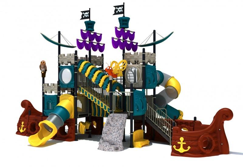 Urządzenia zabawowe Zestaw Statek Piracki  7