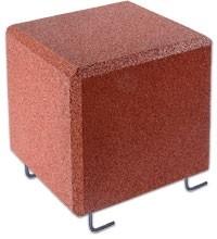 FLEXI-STEP - FLEXI-STEP sześcian z mocowaniem 400x400x400mm