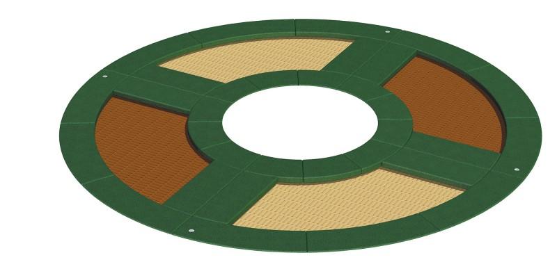 Urządzenia zabawowe Trampolina Circle 90