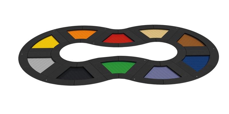 Urządzenia zabawowe Trampolina Loop