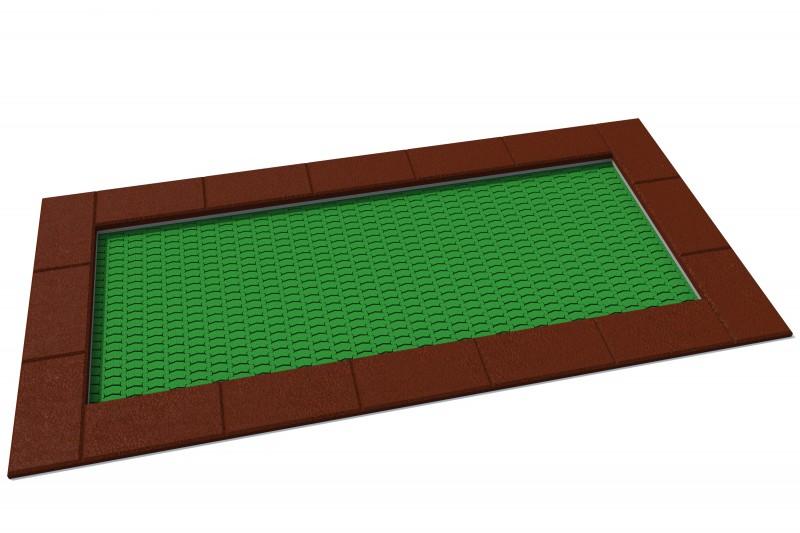 Urządzenia zabawowe Trampolina Orta 150 x 300