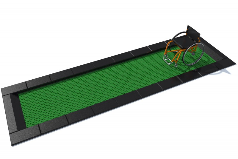 Urządzenia zabawowe Trampolina Orta-I 150 x 500