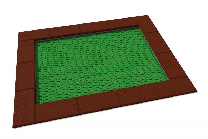 Urządzenia zabawowe Trampolina Orta 175 x 225