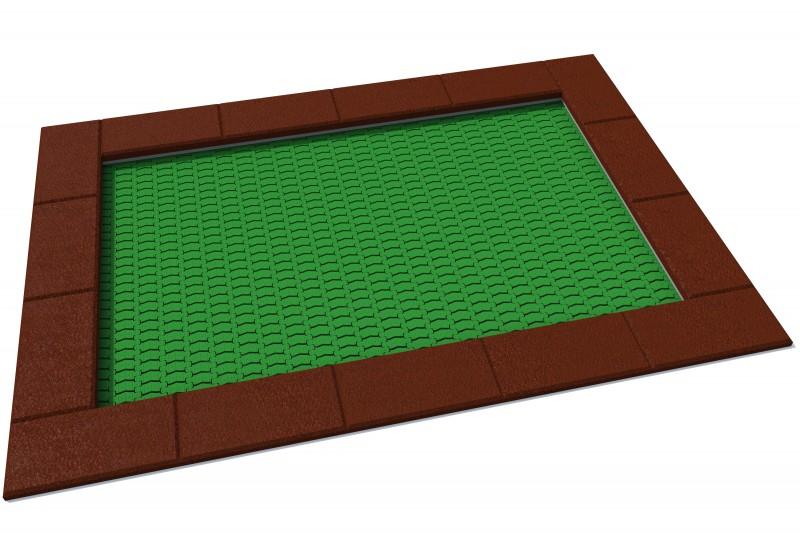 Urządzenia zabawowe Trampolina Orta 175 x 250