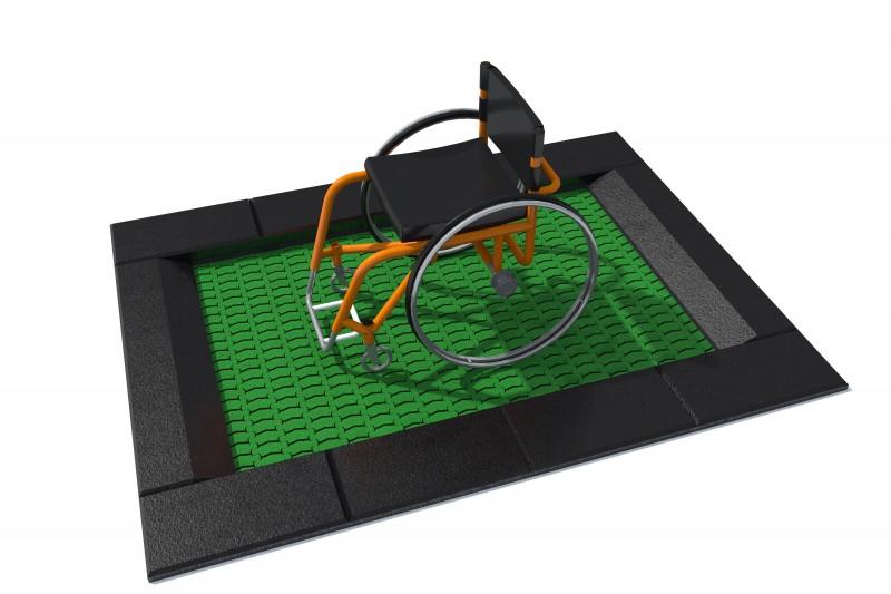 Urządzenia zabawowe Trampolina Orta-I 150 x 200